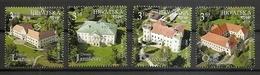 CROATIA 2019,CASTLES,,MNH - Croatia