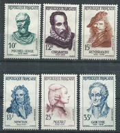 Timbre France Neuf * Yvt N° 1133-1138 - France