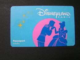 FRANCE Disney Passports.. - Francia