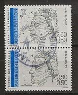 FRANCE:, Obl., N° YT 2682 X 2, Paire, TB - Oblitérés