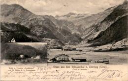 Gruss Aus Dem Ridnaunthal B. Sterzing (Tirol) - 2 Bilder * 27. 8. 1905 - Vipiteno