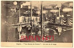 """CPA - ANGERS - Magasin """" Aux Dames De France """" En 1906 - Un Coin Du 2è étage 49 Maine Et Loire - Negozi"""