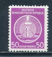 DDR Dienstmarken A 14 X XII ** Geprüft Schönherr Mi. 7,- - DDR