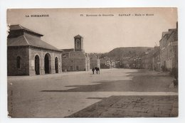 - CPA GAVRAY (50) - Halle Et Mairie - Edition La C. P. A. N° 77 - - Francia