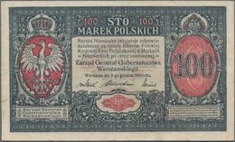 "Poland / Polen: State Loan Bank Of Poland Set With 5 Banknotes With Title ""Zarzad General Gubernator - Polen"