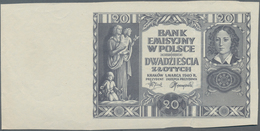 Poland / Polen: Pair With 2 Zlote 1936 Proof Without Underprint And Serial Number P.76p (F+/VF) And - Polen