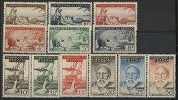 FEZZAN Cote 62.4 € N° 56 à 67. Série Complète De 12 Valeurs Neuves ** MNH. TB - Fezzan (1943-1951)