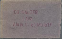 Poland / Polen: Lodz – CH. Halter 145 Mk NI, P.NL (Podczaski R-206) In UNC Condition. Rare! - Polen