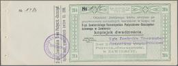 Poland / Polen: Pair With 10 And 20 Kopeks 1914 Check Issue, P.NL (Podcziaski R-498, Kardakoff 108/4 - Polen