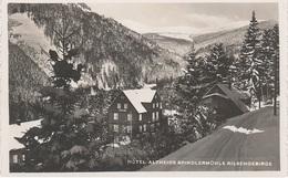 AK Riesengebirge Spindlermühle Spindleruv Mlyn Hotel Baude Altheide Winter Friedrichsthal Bedrichov St Peter Sv Petr - Sudeten