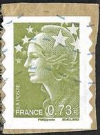 FRANCE   2009  - YT 286  - Beaujard -  Oblitéré - Francia