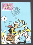 Carte Maximum - Lucky Luke - Timbre N° 2390 - 1990 - Maximum Cards