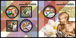 TOGO 2019 - Mahatma Gandhi, M/S + S/S. Official Issue [TG190157] - Mahatma Gandhi