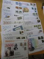 Dt. Post Jubiläumsbriefe 25 Stück Aus 2005-2009 (12250) - BRD