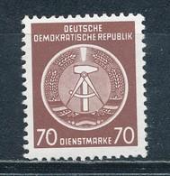 DDR Dienstmarken A 16 X XII ** Geprüft Schönherr Mi. 6,- - DDR