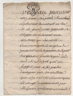 Loire Chuyer 1747 - Manuscripts