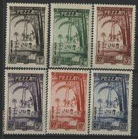 FEZZAN TIMBRES-TAXE Cote 19.2 € N° 6 à 11. Série Complète De 6 Valeurs Neuves ** MNH. TB - Nuovi