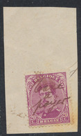 """émission 1915 - N°140 Sur Fragment Annulé Par Manuscrit """"Taxe à Payer"""" / Curiosité. - 1915-1920 Alberto I"""