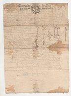 Loire St Chamond Maitre Chapelier Et Chuyer 1678 - Manuscripts