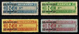 Liberia VD 6/9 Sin Goma. Cat.30€ - Liberia