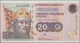 Scotland / Schottland: Clydesdale Bank PLC 20 Pounds 1999, P.228b In Perfect UNC Condition. - [ 3] Schottland