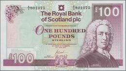 Scotland / Schottland: The Royal Bank Of Scotland Plc 100 Pounds 2000, P.350d In Perfect UNC Conditi - [ 3] Schottland