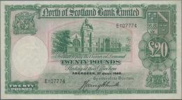 Scotland / Schottland: North Of Scotland Bank Limited 20 Pounds 1940, P.S646, Still Great Condition - [ 3] Schottland