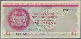 Sierra Leone: Sierra Leone Monetary Institute Unadopted Uniface Front Design Trial On Cardboard For - Sierra Leone