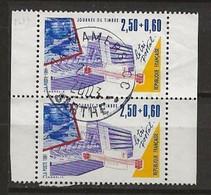FRANCE:, Obl., N° YT 2689 X 2, Paire De Carnet, TB - Oblitérés