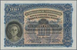 Switzerland / Schweiz: Schweizerische Nationalbank Lot With 4 Banknotes 100 Franken 1947 With Signat - Suisse