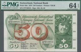 Switzerland / Schweiz: National Bank Of Switzerland Set With 3 Banknotes Comprising 10 Franken 1973 - Schweiz