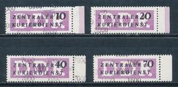 DDR Dienstmarken B 10/13 ** Mi. 6,50 - DDR