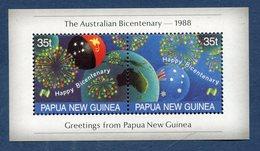 Nouvelle Guinée - YT Bloc - Neuf Sans Charnière - 1988 - Guinea (1958-...)