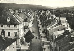(CHAMPAGNOLE )( 39 JURA ) PERSPECTIVE SUR L AVENUE DE LA REPUBLIQUE - Champagnole
