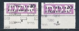 DDR Dienstmarken B 14/15 ** Mi. 4,50 - DDR