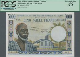 West African States / West-Afrikanische Staaten: Banque Centrale Des États De L'Afrique De L'Ouest 5 - West African States