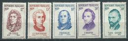 Timbre France Neuf * Yvt N° 1083-1087 - France