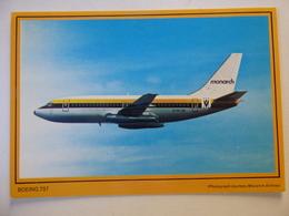 MONARCH  B 737  G-DFUB - 1946-....: Era Moderna