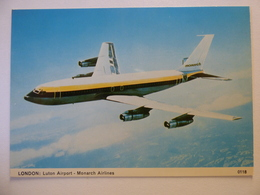 MONARCH  B 707  G-?? - 1946-....: Era Moderna