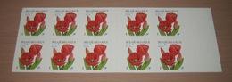 Boekje 40** Rode Tulpen 3047** - Carnet 40 MNH - Pour L'Europe - Tulipes Rouges - Postzegelboekjes 1953-....
