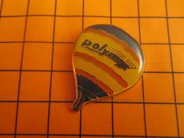 2519 PINS PIN'S / Beau Et Rare : Thème MONTGOLFIERES / BALLON LIBRE MULTICOLORE POLYMIX - Mongolfiere