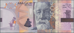 Testbanknoten: Bundle Of 100 Pcs. Test Notes Switzerland By KBA Giori With Portrait Of Jules Verne 2 - Fiktive & Specimen