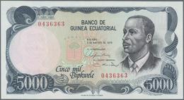 Africa / Afrika: Very Nice Set With 5 Banknotes Africa Comprising Kenya 500 Shillings 1990 P.30c (XF - Banknoten