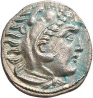 Makedonien - Könige: Alexander III., Der Große 336-323 V. Chr.: Lot 3 Stück; Drachme, Sehr Schön, Se - Griechische Münzen