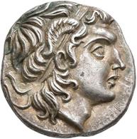 Thrakien - Könige Und Dynasten: Lysimachos 305-281 V. Chr.: Drachme; Alexanderkopf Nach Rechts / Thr - Griechische Münzen