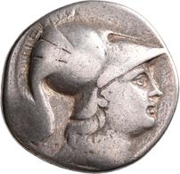 """Pamphylien: SIDE: Tetradrachme, 2.-1. Jhd. V. Chr.; 15,94 G, Mit Gegenstempel """"Anker"""" Auf Revers. At - Griechische Münzen"""