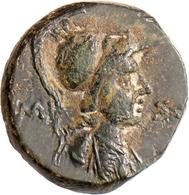 Provinzialrömische Münzen: Lot 6 AE: 2x Amisos, Sebaste, Laodikeia, Akmoneia, Synaus. Meist Um Ss. - 3. Röm. Provinz