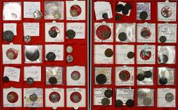 Antike: Konvolut Von 49 Griechische Und Römische Münzen; AR-Denare, AR-Antoniniane, Æ-Tetradrachmen, - Antike