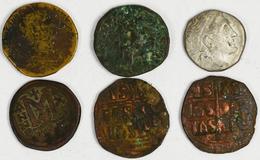 Antike: Lot Von Insgesamt Ca. 80 Antike Silber- Und Bronzemünzen, Auch Teilstücke; Griechische Münze - Antike
