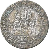 Dänisch-Westindien: (seit 1917 U.S. Virgin Islands) Christian VIII. 1839-1848: 10 Skilling 1845. KM# - Antillen
